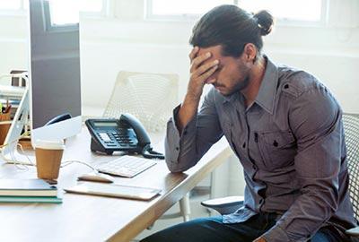 Hombre-estresado